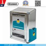 Quadratischer Aluminiumvorschlags-Kasten mit Sicherheits-Verschluss B09