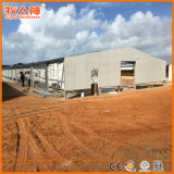 Prefabricated 강철 구조물 가금 경작 집 건축