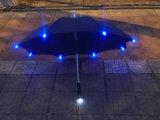 El LED plegable compacto invirtió el paraguas del recorrido del paraguas