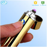 Isqueiro de arco dobro do USB do cigarro novo da forma