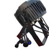 Mini caso UV di volo IP65 del proiettore 12PCS RGBWA del LED per l'indicatore luminoso di PARITÀ del LED