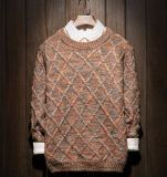 Caliente recubrimiento de encargo Cardigan suéter del color del Hombre vestido