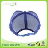 Kundenspezifische Schaumgummi-Ineinander greifen-Fernlastfahrer-Schutzkappe, 5 Panel-unbelegte Polyester-Seil-Fernlastfahrer-Hut-Schutzkappe