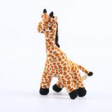 Giocattolo molle della peluche farcito giraffa animale