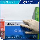 Медицинские защитные перчатки из латекса Dispsoable M=5.0gr порошок и порошок свободной