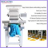 Holiaumaの単一のヘッドコンピューター制御刺繍機械/大型のフラットキャップのTシャツの刺繍機械