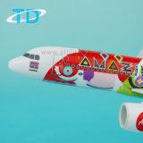 Airbus-A320neo Geschäfts-Flugzeug-Modell Luft-Asien-(Überraschen) 26cm