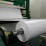 400オフセット印刷のためのミクロンによって曇らされるマット白いPVCシートロール