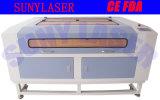 A alavanca de corte a laser CNC 1200*800mm de área de trabalho