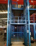 La plataforma de elevación hidráulica de elevación de carga vertical