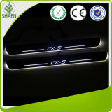 Mazda Cx-5 LED Moving Door Scuff Novo Cx-5 LED Door Sill Plate 2011-2014 Cx5 Side Step Cover Pedal