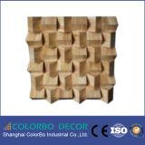 El panel acústico de madera insonoro del difusor de la pared