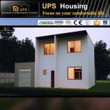 Casa prefabricada de dos pisos confeccionada de acero galvanizada caliente 2017
