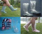 Laarzen van de Regen van pvc van Lucency de Transparante, de Transparante Laarzen van 100%