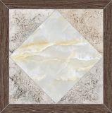 Azulejos de suelo de cerámica rústicos del diseño antirresbaladizo colorido del ladrillo del material de construcción