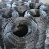 Низкоуглеродистой стали черный стальной проволоки в калибра 11 для повседневного использования