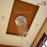Panneau de plafond facile ignifuge de PVC de décoration d'installation de modèle d'intérieur à vendre