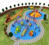熱い販売の子供の楽園の多機能の運動場は装置HD17-244を滑らせる