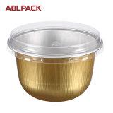 Fettdichtes Kuchen-Aluminiumfolie-Backen-Cup