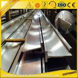 6063t5 anodisierte T-Schlitz Aluminiumaluminiumstrangpresßling-Profile