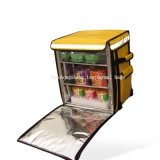 Restauration d'aliments isolé Postmate transporteur sac à dos pour des aliments chauds