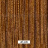 1mwidthドア項目および車の部品Bds3301のための木パターン水転送の印刷のフィルム