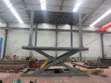 Ein 5 Tonnen-hydraulisches Parken Scissor Auto-Höhenruder