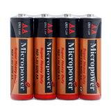 Mikroleistungs-Supertrockene Hochleistungsbatterie AA/R6p