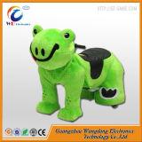 Китайский аккумулятор мягкие игрушки под действием электропривода животных на лошадях животных для продажи