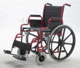 Manual de aço, nylon, cadeira de rodas, Foldable (YJ-017)