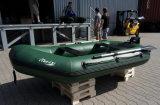 Airmatの床(FWS-O)が付いている膨脹可能な漁船