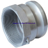 Aluminium Druckguß mit CNC, der für Feuer-Schlauch-Kupplung maschinell bearbeitet