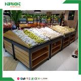 Пластичная стойка знамени выставки плодоовощ Supermarkt
