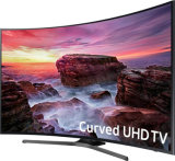 "Venta al por mayor 65 "" LCD TV 2160p 4K elegante ultra LED curvado HD TV"