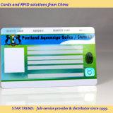 Het Gemaakte Plastiek van het Lid van identiteitskaart Kaart met Magnetische Streep
