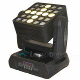 DMX512 25PCS 15W RGBW LED bewegliches Hauptmatrix-Blinder-Licht