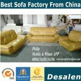 Sofá moderno do couro genuíno da grão superior da alta qualidade (C06)