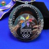 Événement de sport personnalisé Prix Médaille d'or olympique de souvenirs médaillon