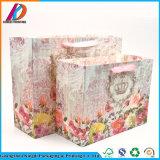 Nuevo bolso del regalo del papel del diseño con la maneta de la cinta