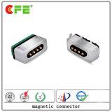 Mâle et femelle 4 broches Broche de connecteur USB Pogo magnétique