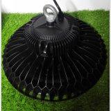UFO 240 vatios de LED negro de alta de la luz de la Bahía de Industrial