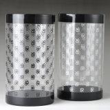 Duidelijke plastic cilinderbuizen (HUISDIER om doos)