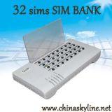 El intercambio caliente SIM de 32 puertos carda el dispositivo para GoIP