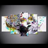 HD imprimió la lona psicodélica Mc-149 del cuadro del cartel de la impresión de la decoración del taller de impresión de la lona de pintura de la mujer