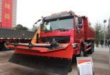 Sinotruk HOWOの雪の掃除人のトラック