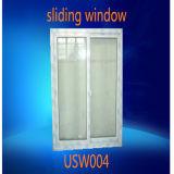単一のガラス経済的な白いフレームPVCスライディングウインドウ