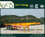 20 тандемных Axles скелетного контейнера футов трейлера Semi