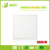 TUV/AEA/Ce/RoHS 90lm/W techo de la plaza de la luz de panel LED para interiores