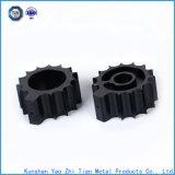 Usinage professionnel de précision des pièces en plastique noires de Ppt