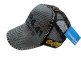 Chapeau de camionneur de qualité avec des goujons en métal (camionneur 6)